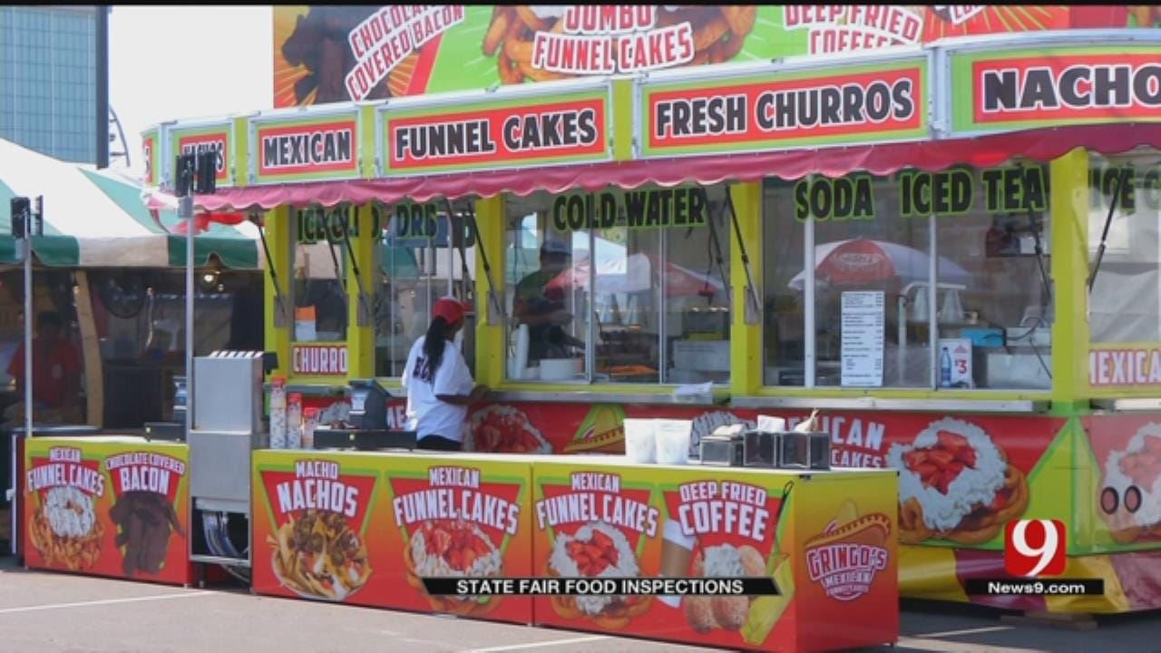 Health Officials Conduct Thorough Inspections Of State Fair Food Vendors