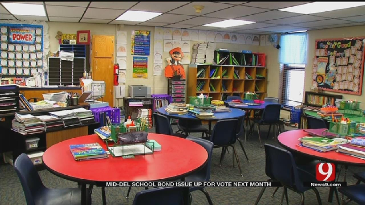 Mid-Del District Preps For Big Bond Issue Election