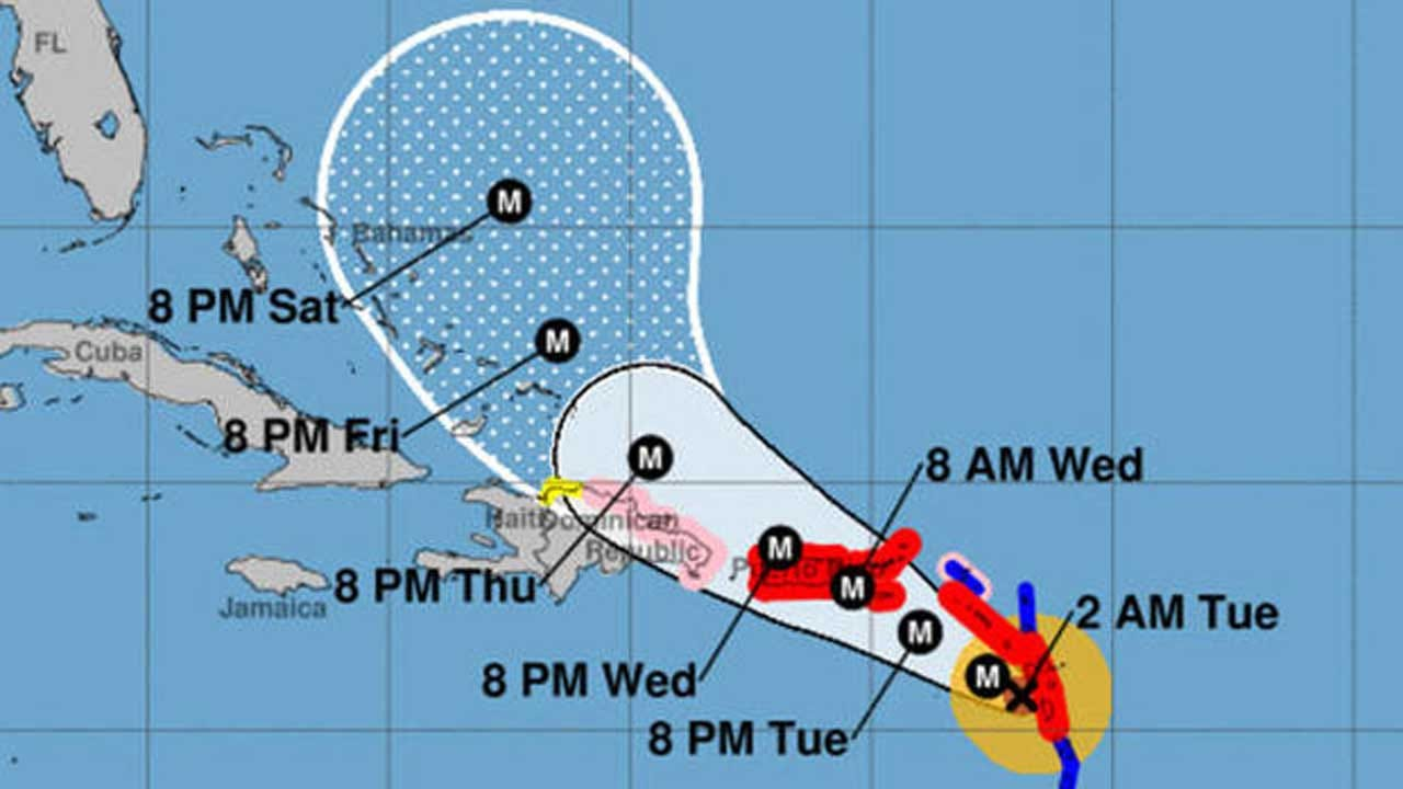 Hurricane Maria, 'Extremely Dangerous' Storm, Pounds Dominica