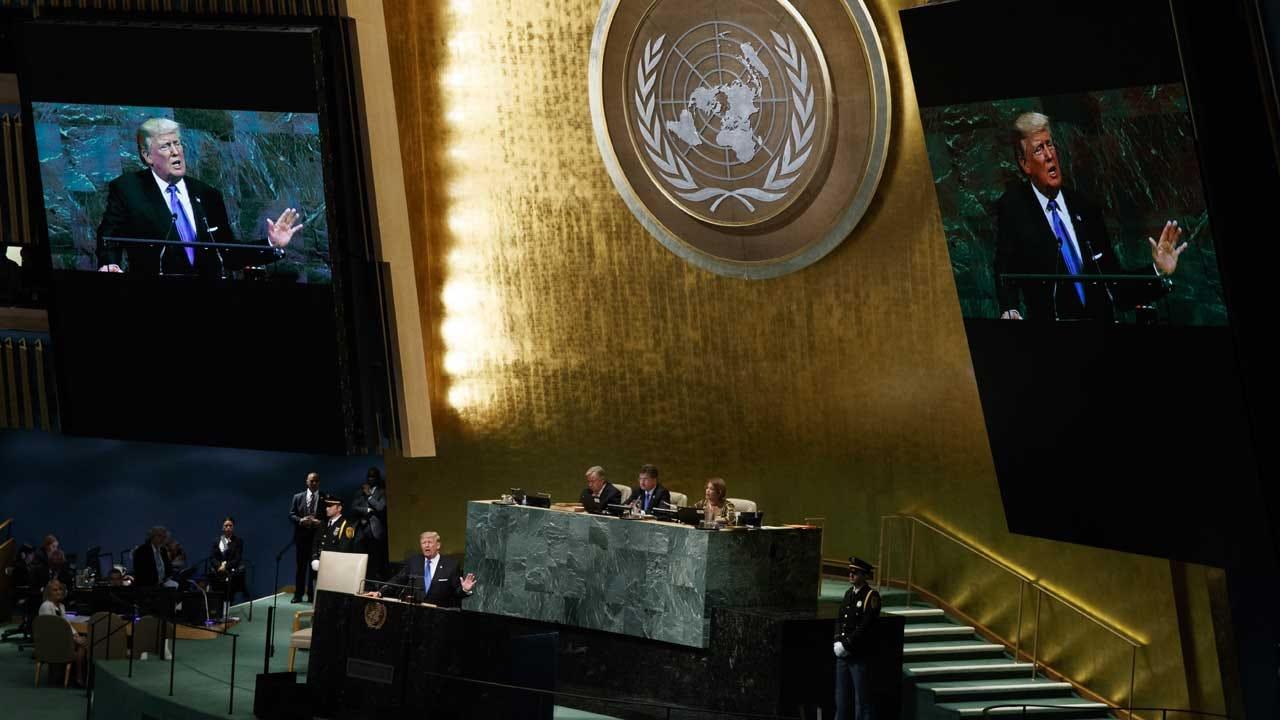 Trump Slams North Korea, Iran Deal In UN General Assembly