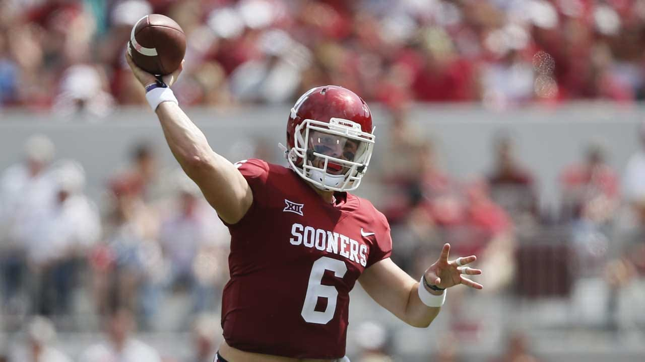 Mayfield Completes 19 Of 20 As No. 7 Oklahoma Tops UTEP 56-7