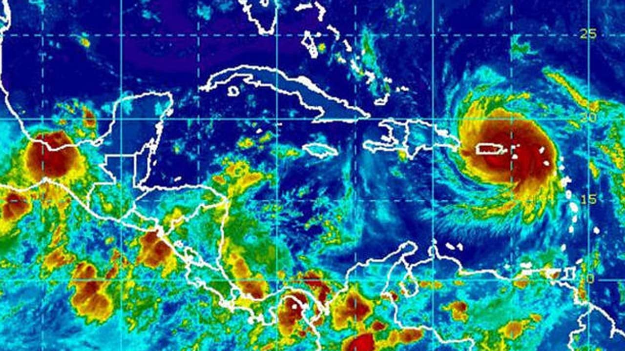 Hurricane Maria Slams Into Puerto Rico As 'Extremely Dangerous' Category 4 Storm