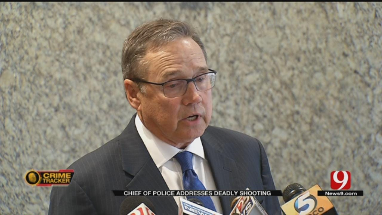 OKC Chief Of Police Responds To Questions About Deadly Officer-Involved Shooting