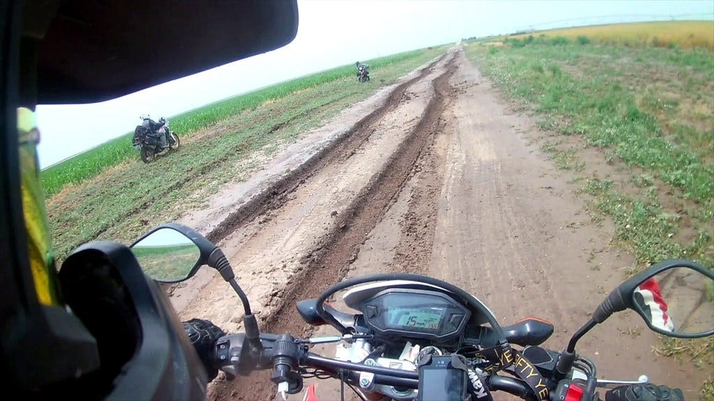Oklahoma Mud Takes Down The TransAmerica Trail Riders