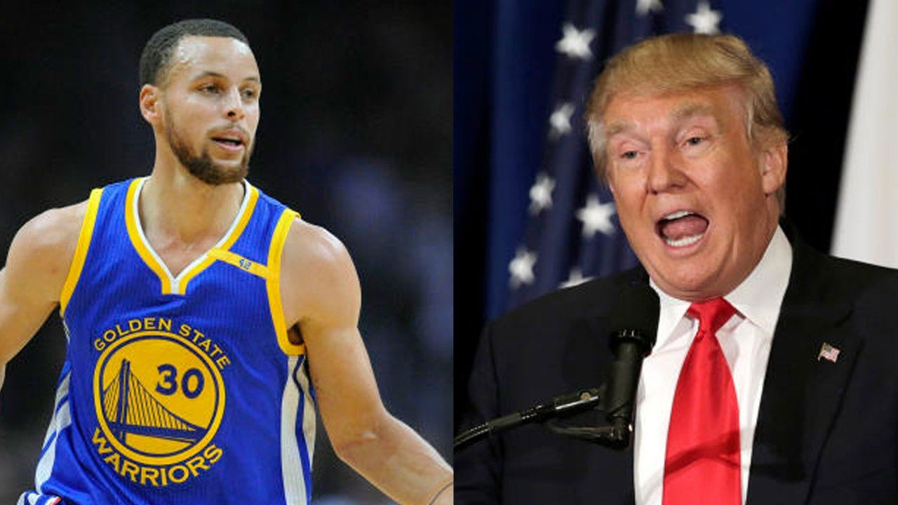 Trump Rescinds Invitation For Steph Curry To Visit White House