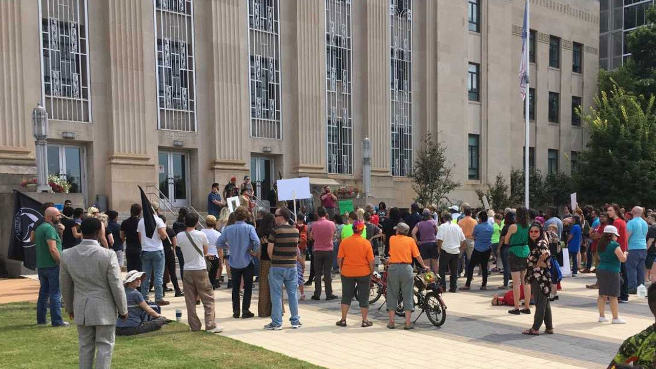"""Crowds March In """"Justice For Magdiel Sanchez"""" Rally"""