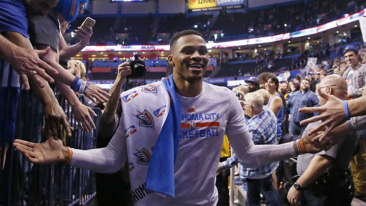 """Russell Westbrook: """"This Is The Place I Want To Be"""""""