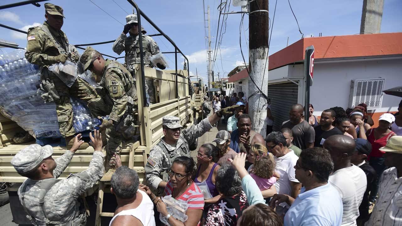 Trump Touts 'A Plus' Hurricane Response Amid Puerto Rico Backlash