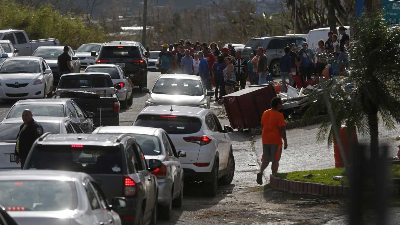 As Humanitarian Crisis Unfolds In Puerto Rico, Trump Tweets About Island's 'Massive Debt'