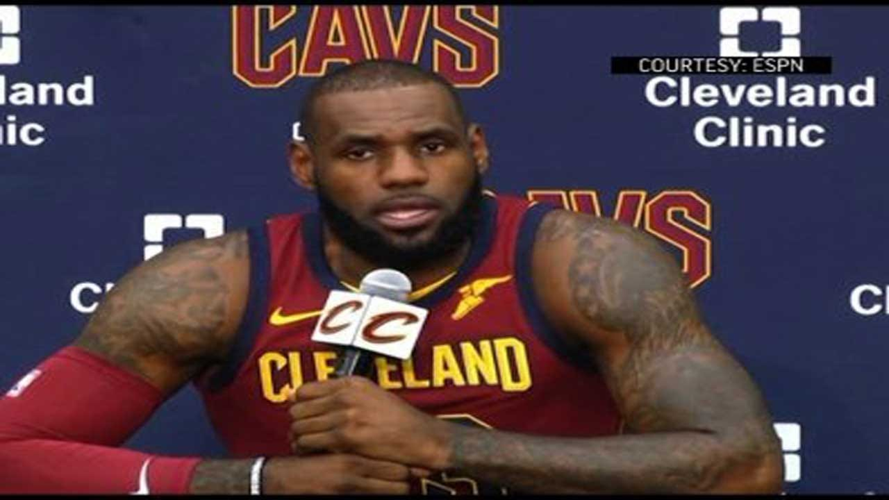 """LeBron James Says Trump """"Used Sports Platform To Try To Divide Us"""""""