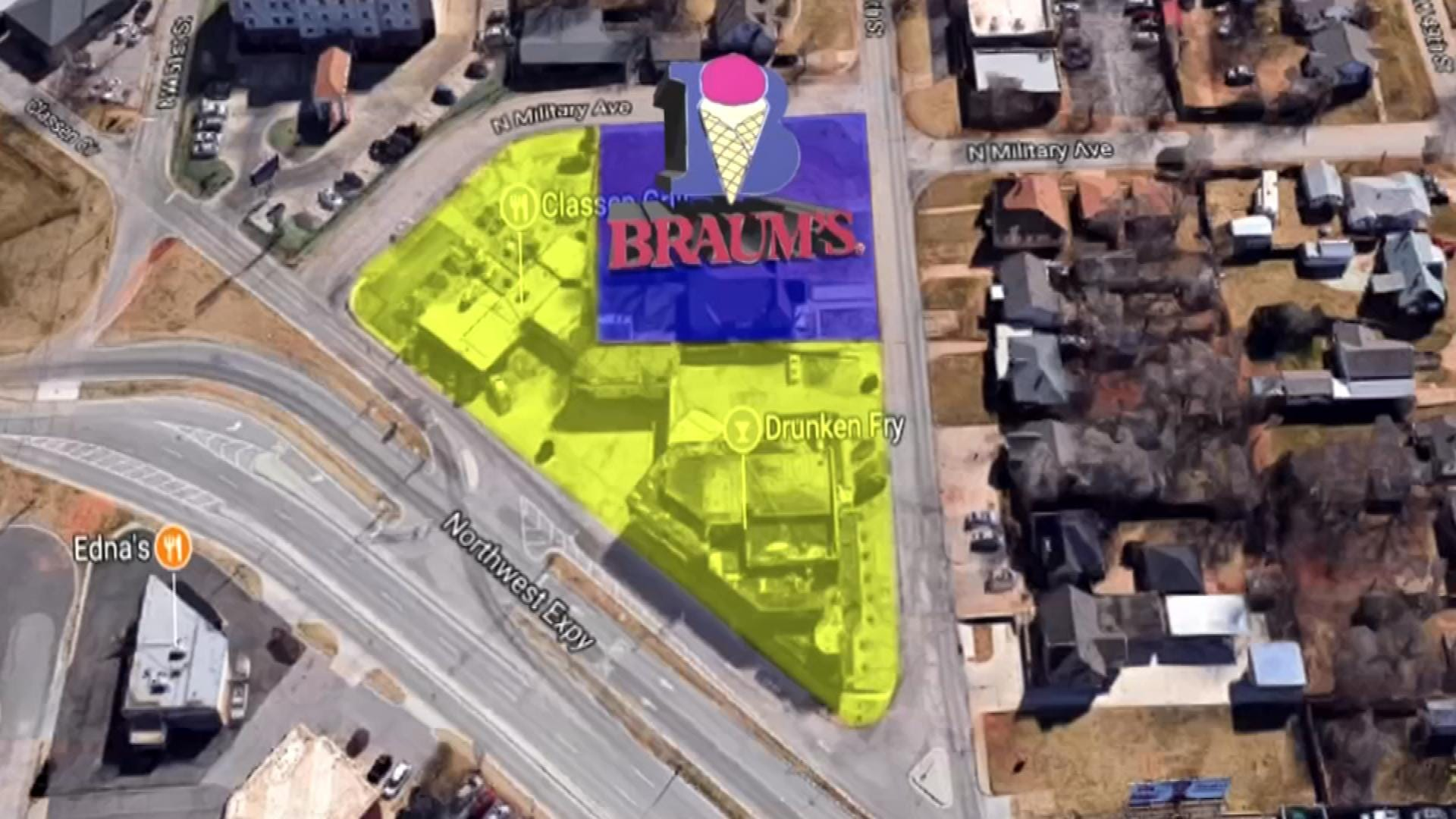 Classen Circle, Braum's In Zoning Limbo After OKC Planning Commission Meeting