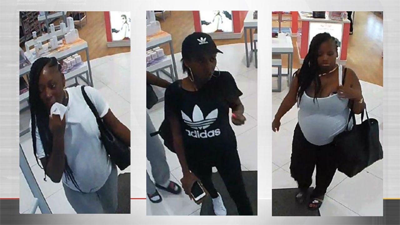 Police Seek Women Who Stole $2K Of Perfume From OKC Store