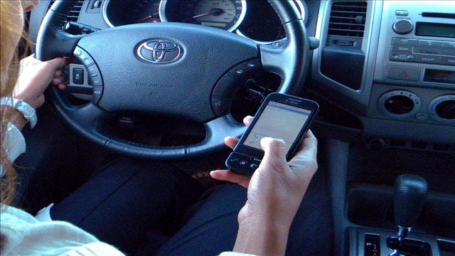 Fewer Citations Issued After Law Banned Texting While Driving