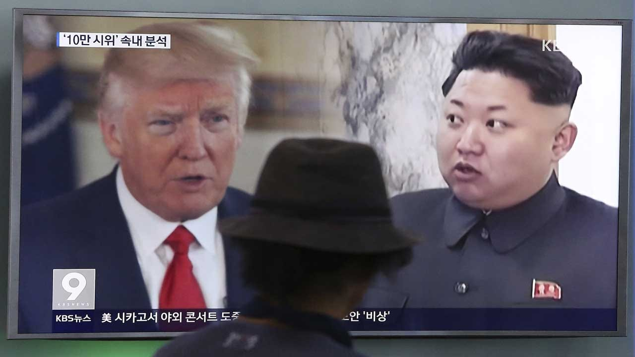 Trump Calls N. Korea's Words And Actions 'Hostile And Dangerous'