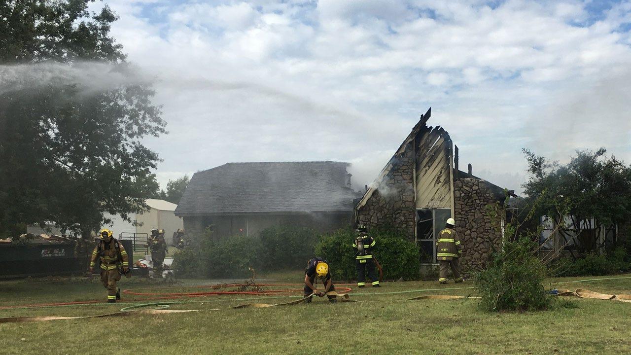 Officials Respond To Deer Creek House Fire