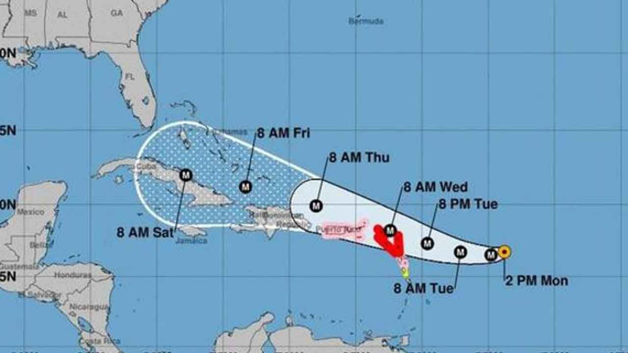 Hurricane Irma Becomes Category 4 Storm