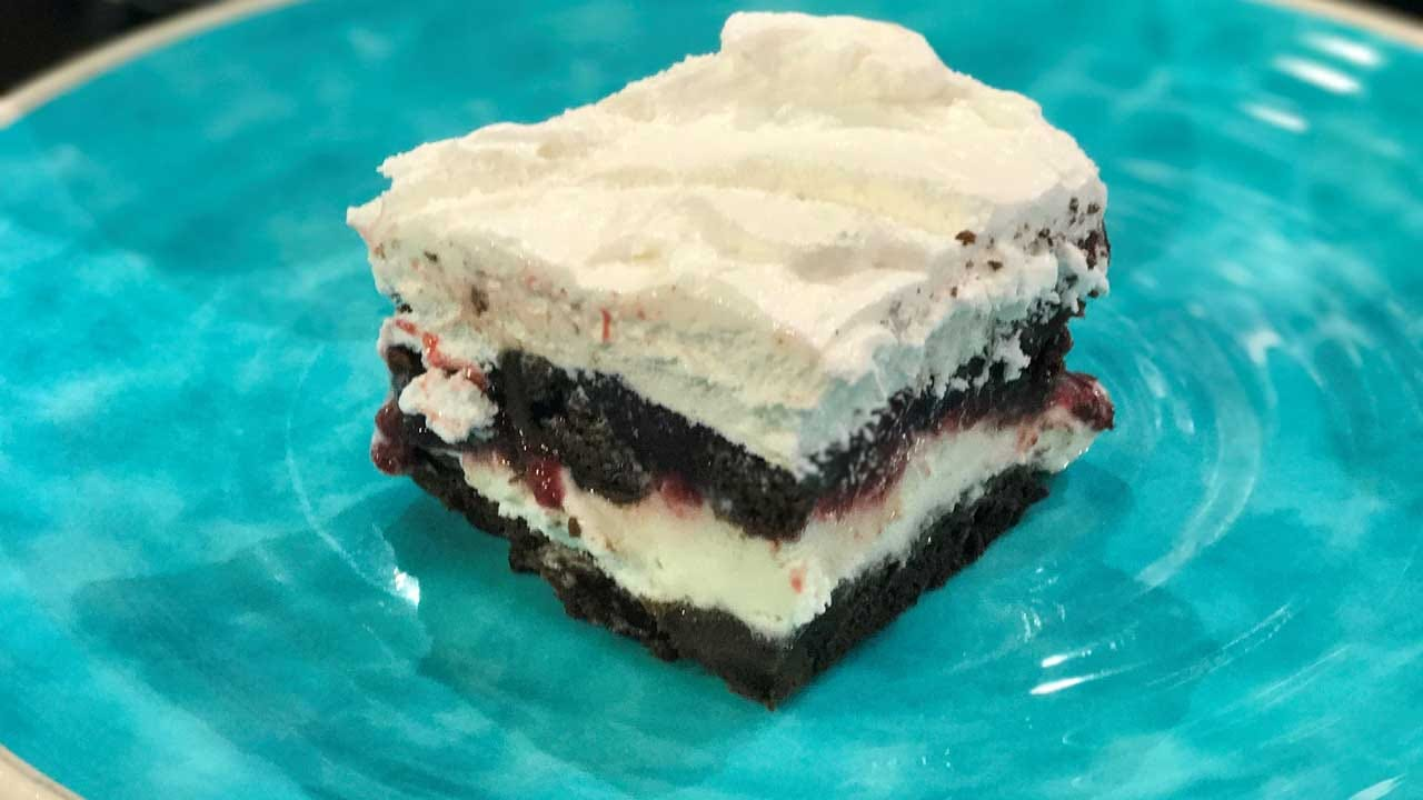Ice Cream Lasagna