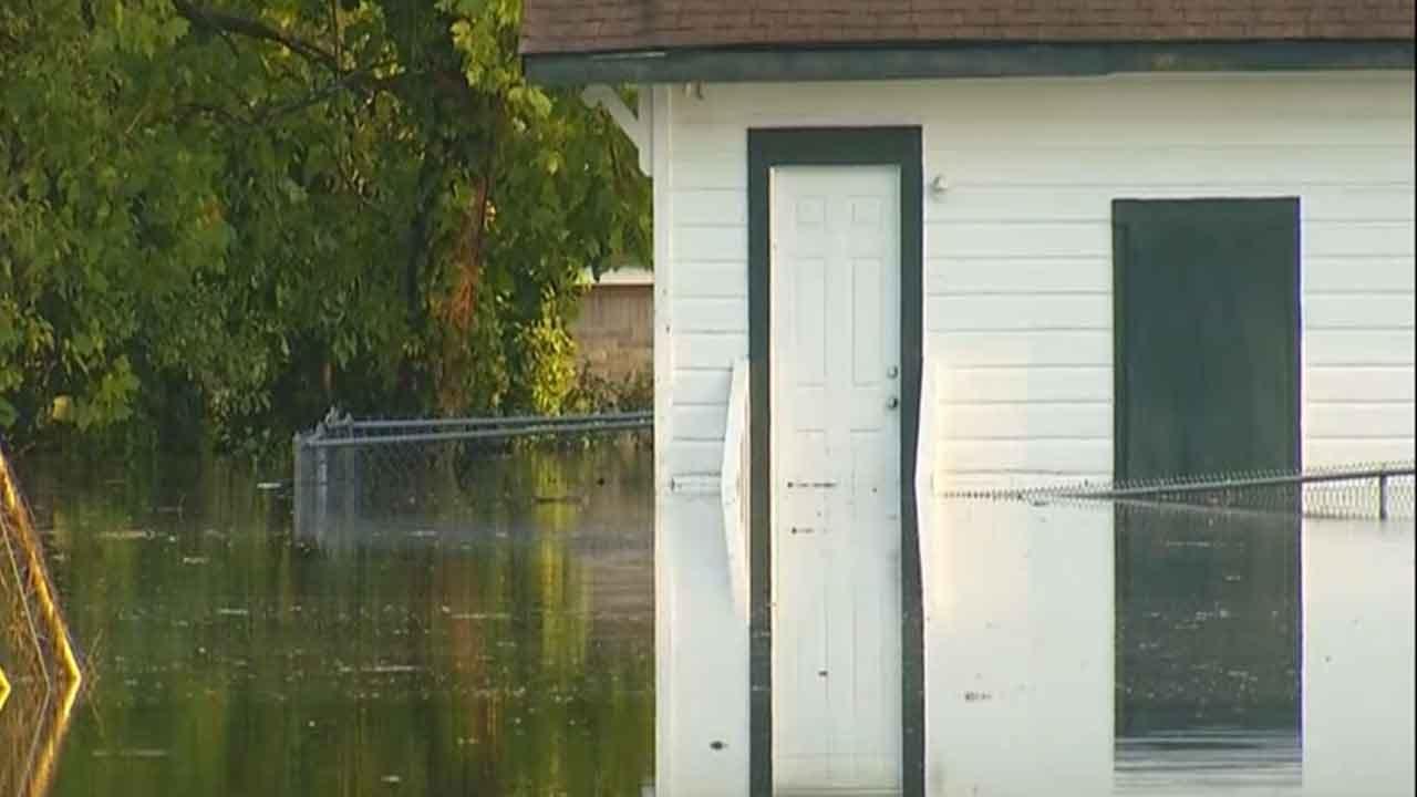 Oklahoma Native Displaced By Harvey Flooding