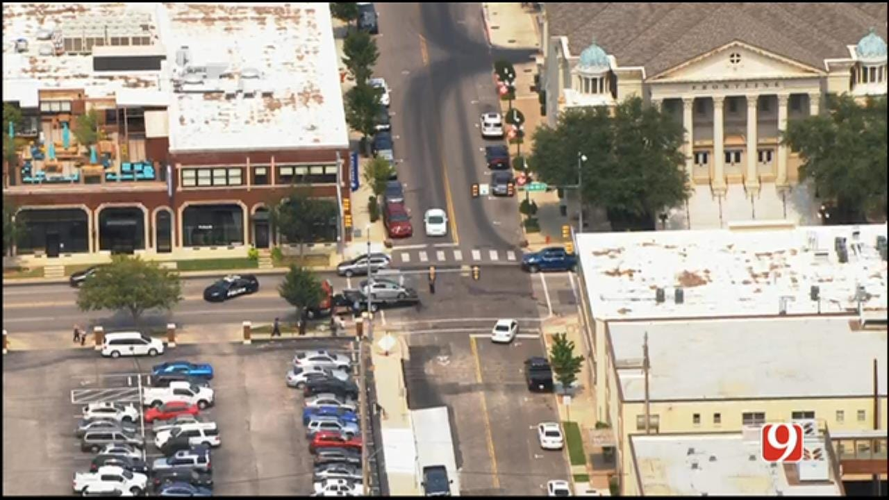 EMBARK Bus Involved In Crash In Downtown OKC