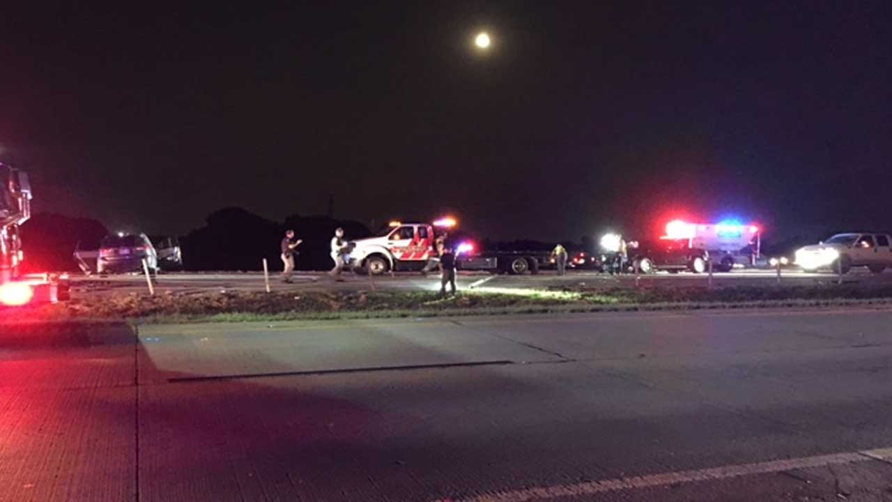 Three Injured After Crash On Kilpatrick Turnpike