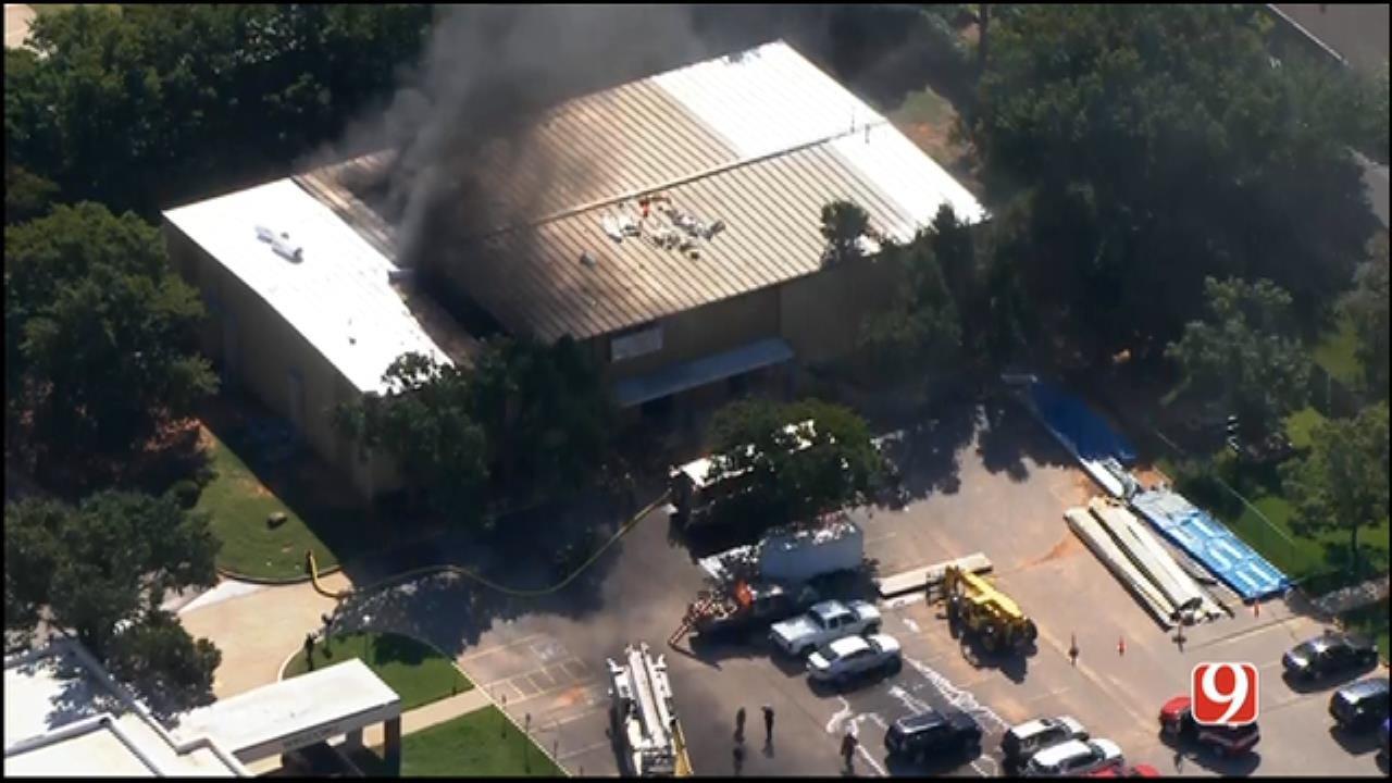 Crews Investigating Fire At Edmond Church