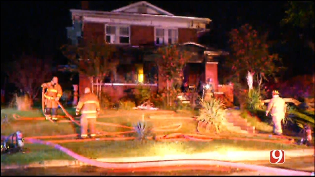 Firefighters Battle NW OKC House Fire