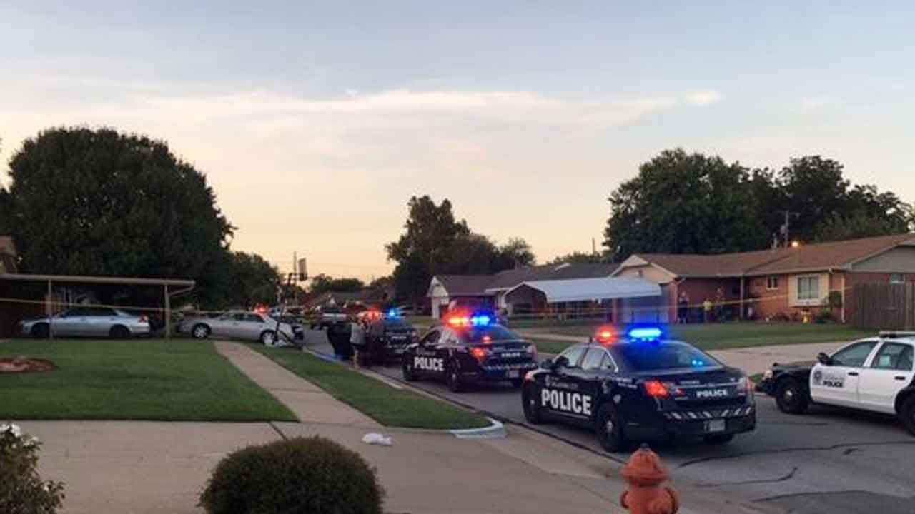 Officers Respond To Shooting Report In South OKC
