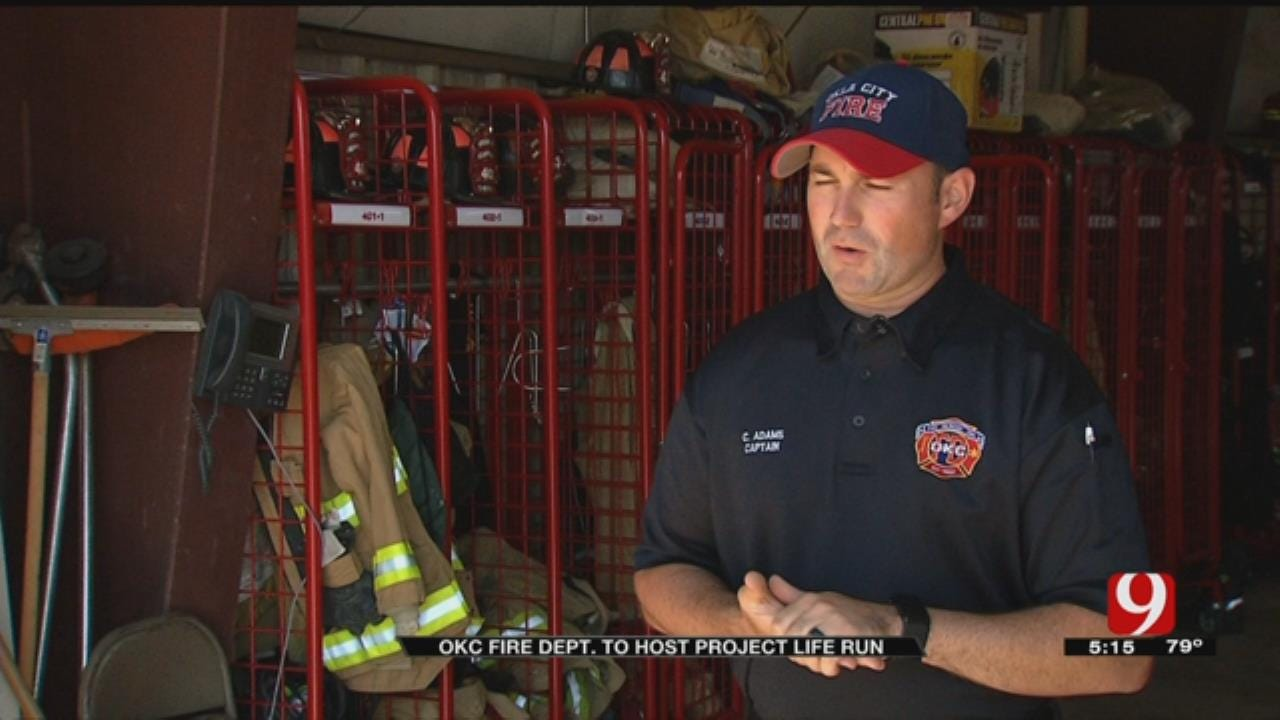 OKC Fire Department Hosts 'Project Life Run' To Save Lives