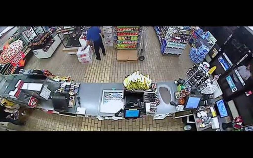 Watch Man Smash Up 7-Eleven After Clerk Refused To Sell Him Beer
