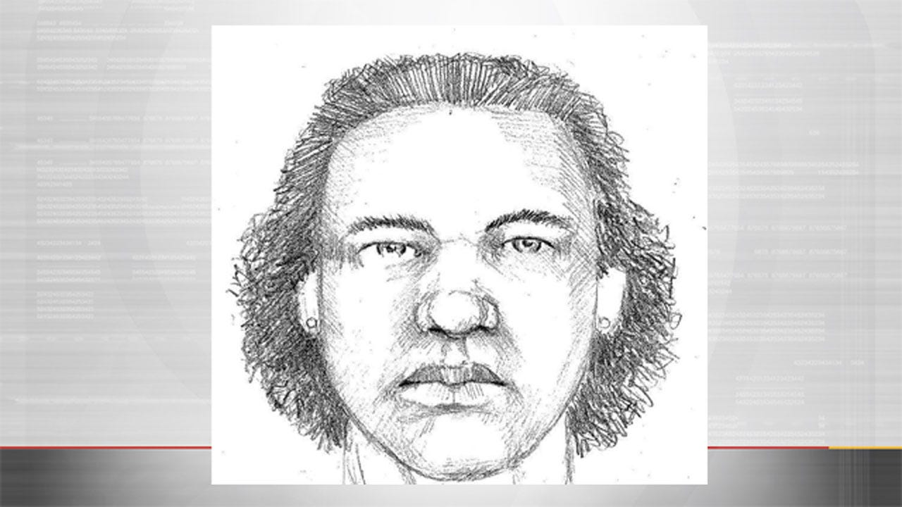 OKC Police Release Sketch Of Sexual Assault Suspect