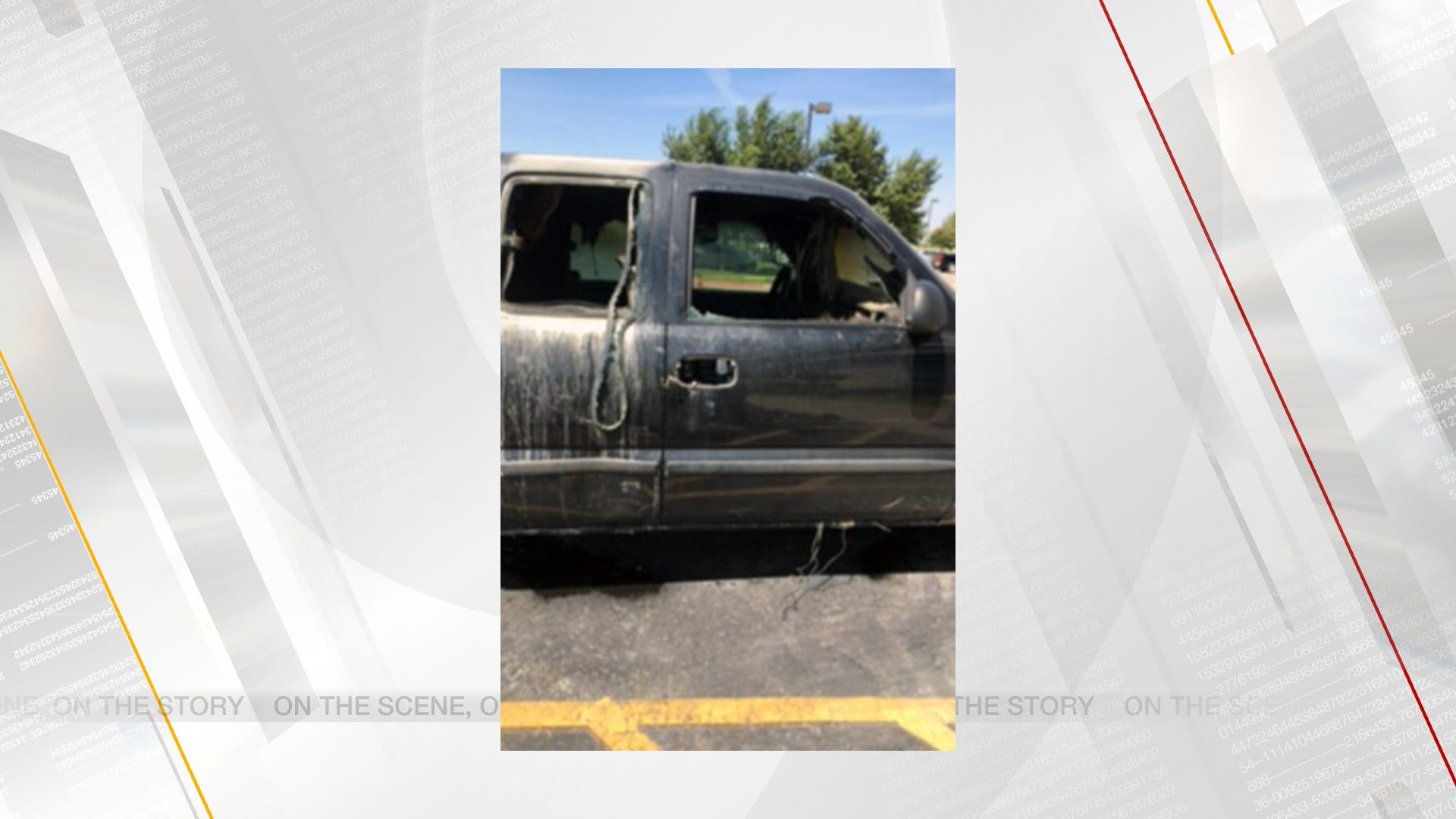 Woman Helps Rescue Boy From Burning Pickup In NW OKC