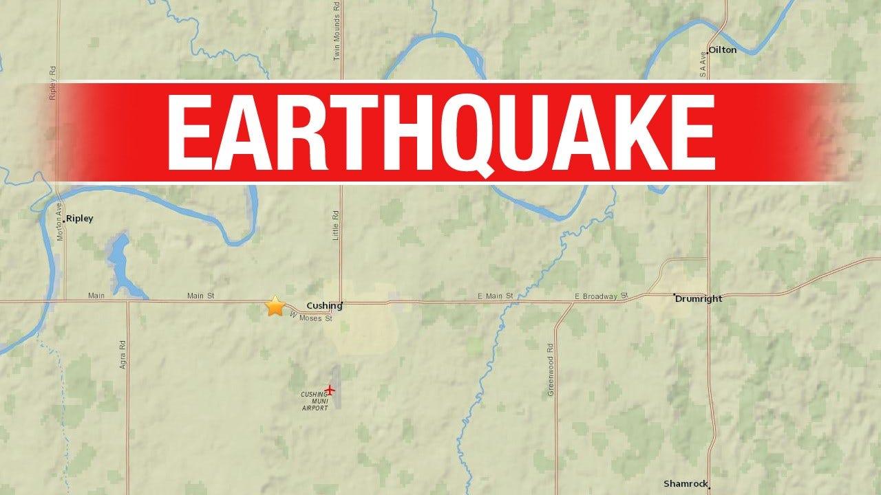 3.1 Magnitude Quake Strikes Near Cushing