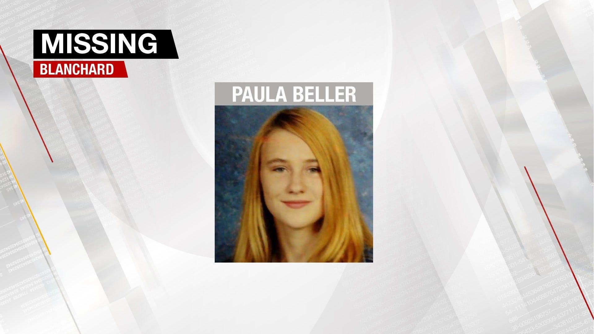 Blanchard Police Seek Missing Teen