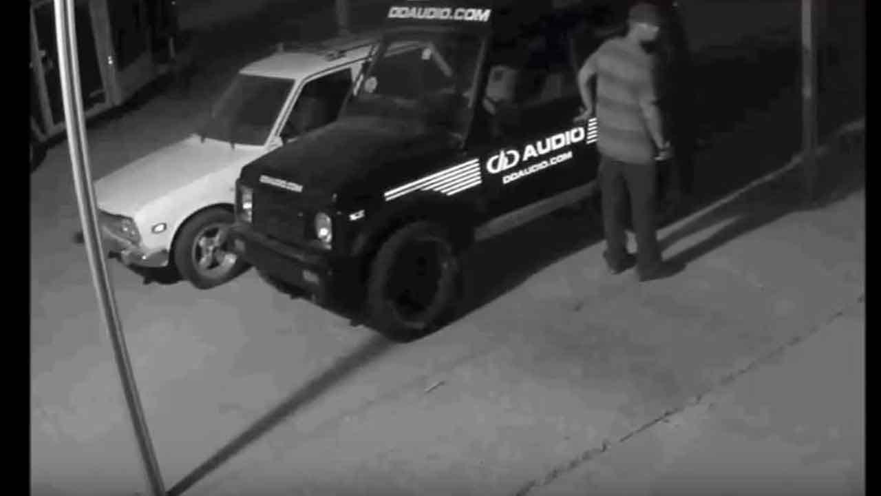 Police Release Surveillance Video Of NW OKC Auto-Burglary Suspect