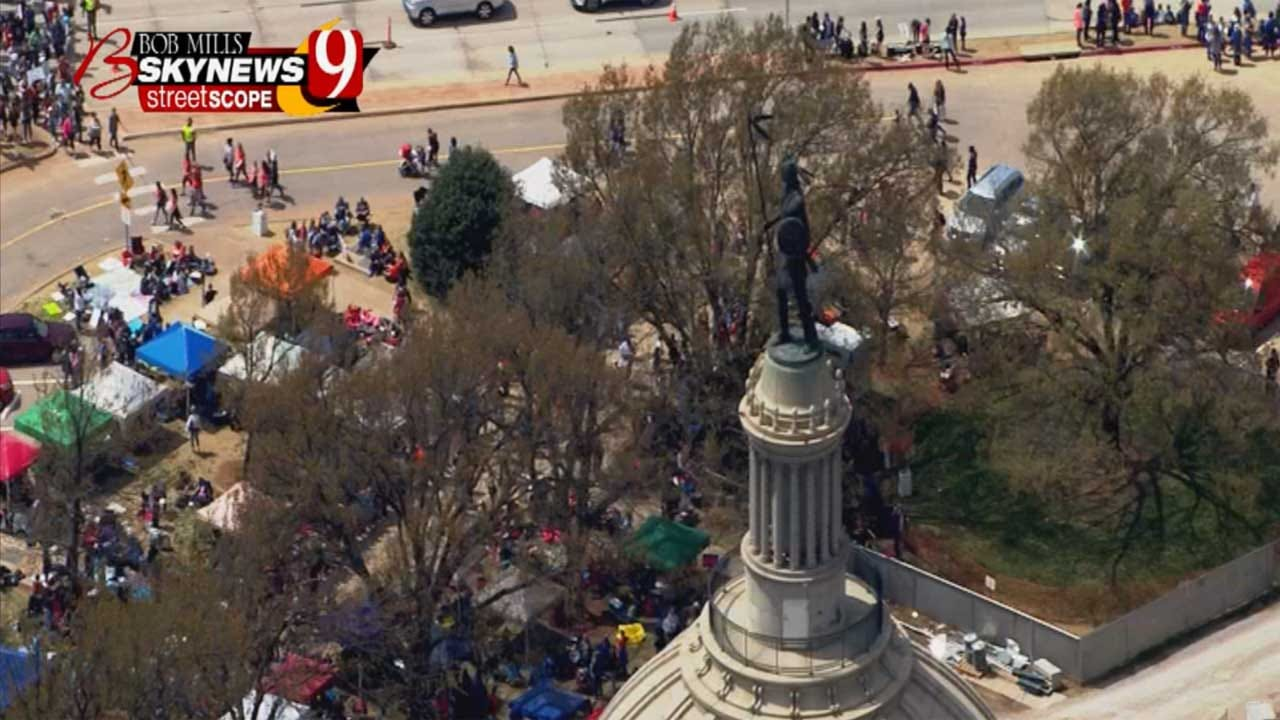 2nd Walkout? OEA Sets Day Of Advocacy, Funding Deadline