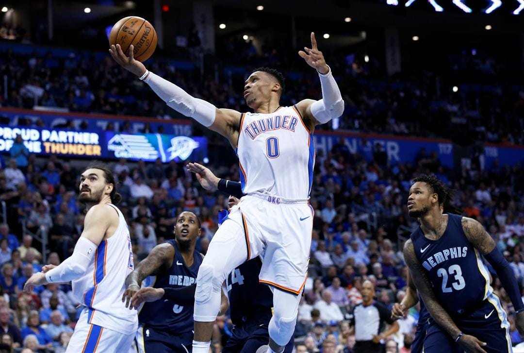 Westbrook Out In Game Against Mavericks Saturday