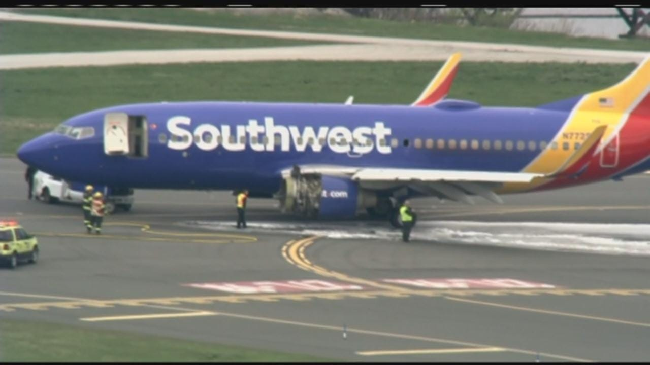 1 Dead After Southwest Airlines Flight Makes Emergency Landing In Philly