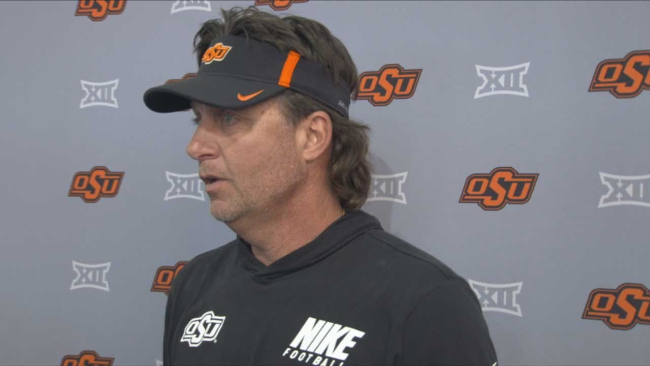 Gundy Goes On Rant About Twitter Post OSU's Texas Take Down