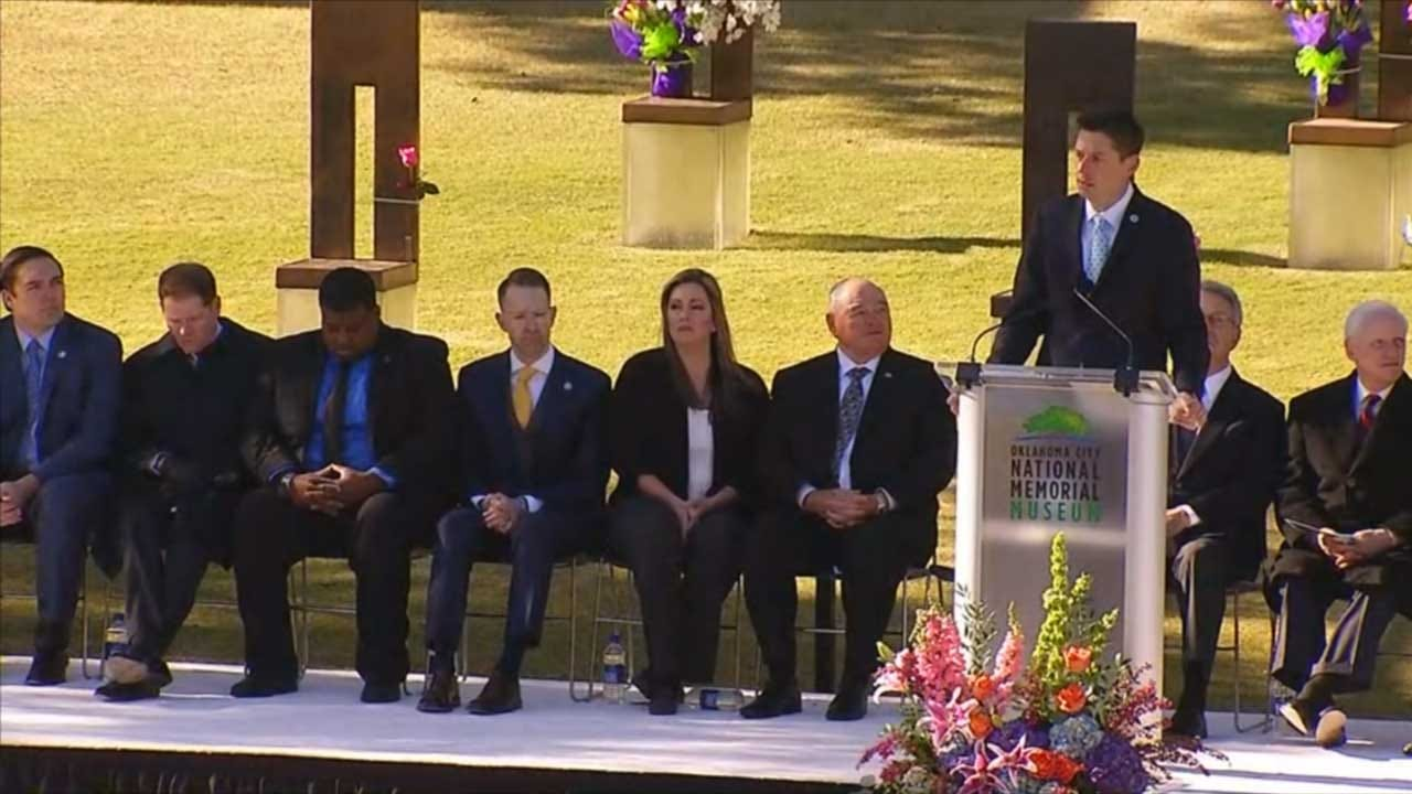 State Officials Remark On 23rd Anniversary Of Murrah Building Bombing