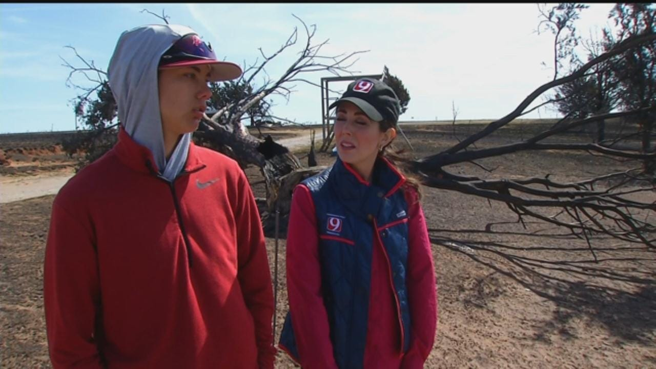 Families Brought Together By Wildfire Devastation In NW Oklahoma