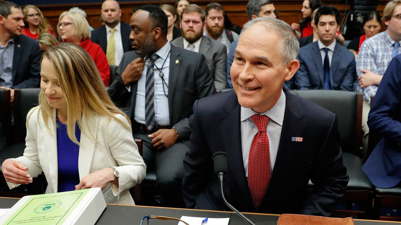 Pruitt Says He Has 'Nothing To Hide' As Lawmakers Slam Him As Unfit To Lead EPA