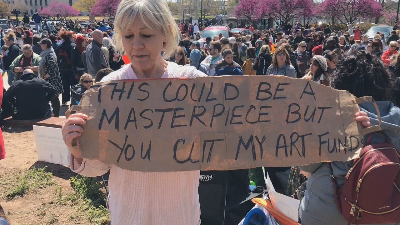 [UNFILTERED] Seminole Art Teacher Pleads For Legislative Help