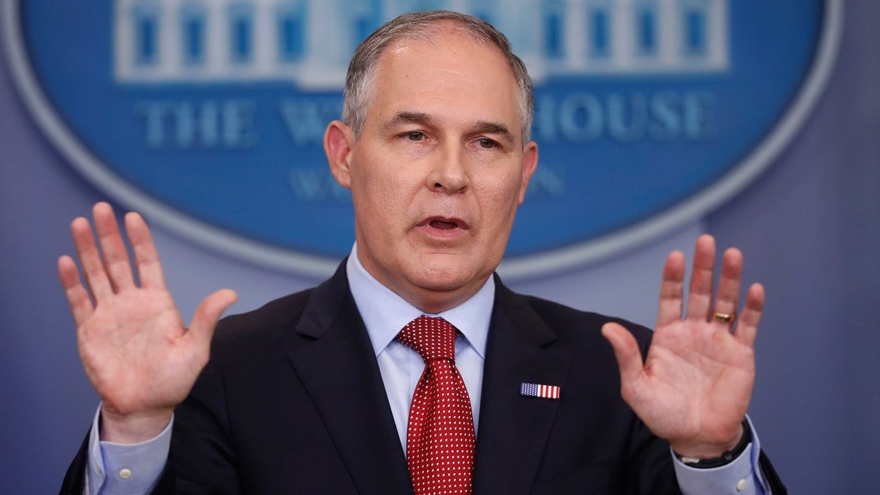 EPA's Embattled Scott Pruitt Claims Ignorance About Big Raises For His Top Aides