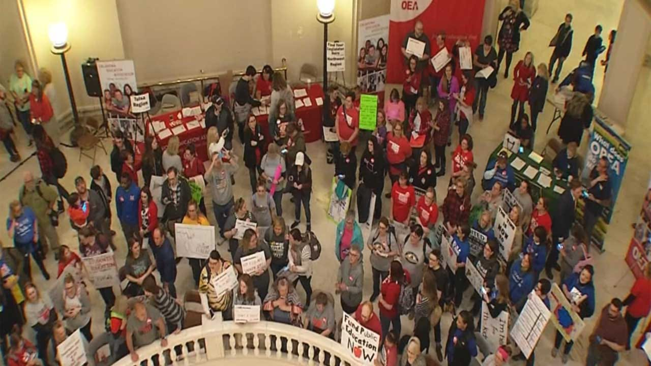 Exclusive Poll: Support For Teachers Sustained 5 Days Into Walkout