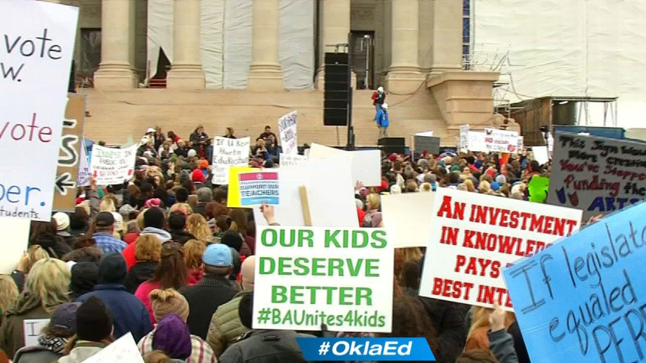 Oklahoma's Female Attorneys May Be The Solving Factor To End Teacher Walkout