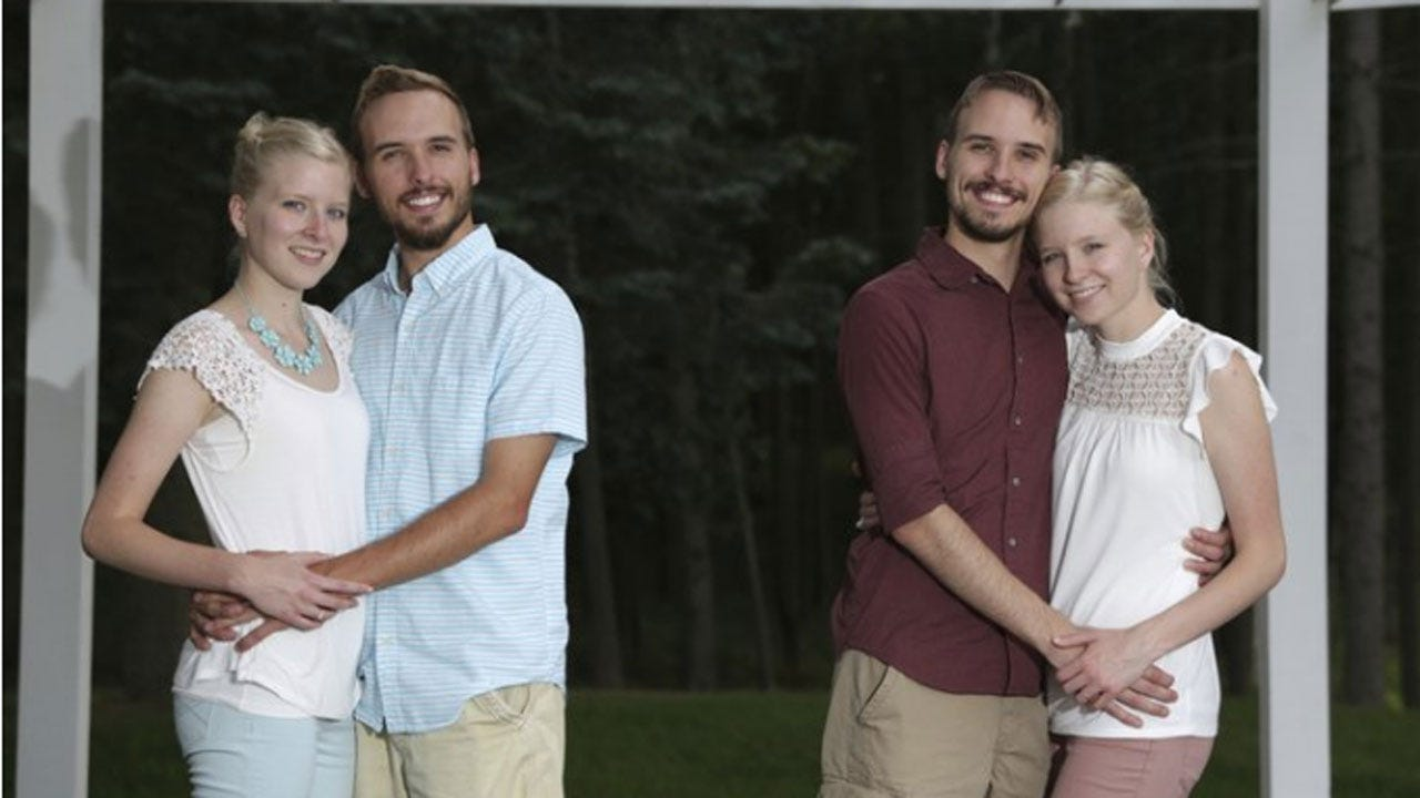 Identical Twin Brothers To Wed Identical Sisters