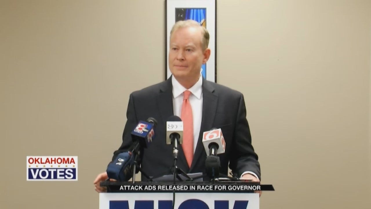 Attack Ads Released In Race For Governor