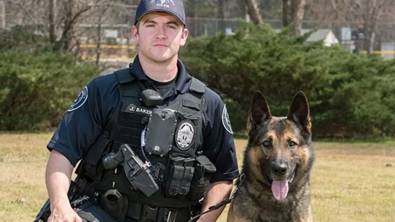 K-9 Officer Stabbed In Pursuit Of Suspect Arrested In Woman's Fatal Shooting