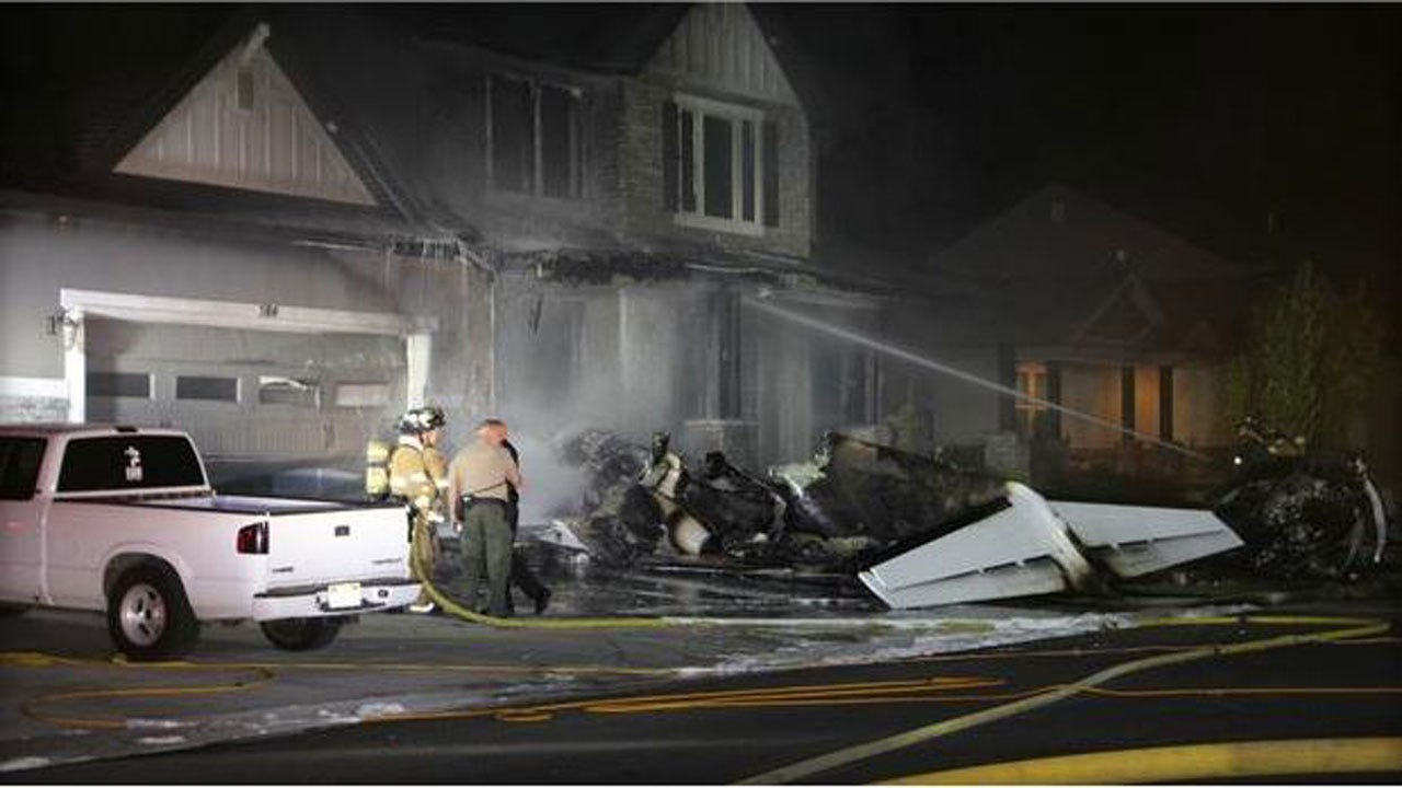 Utah Man Dies Crashing Small Plane Into His Home After Being Released From Jail