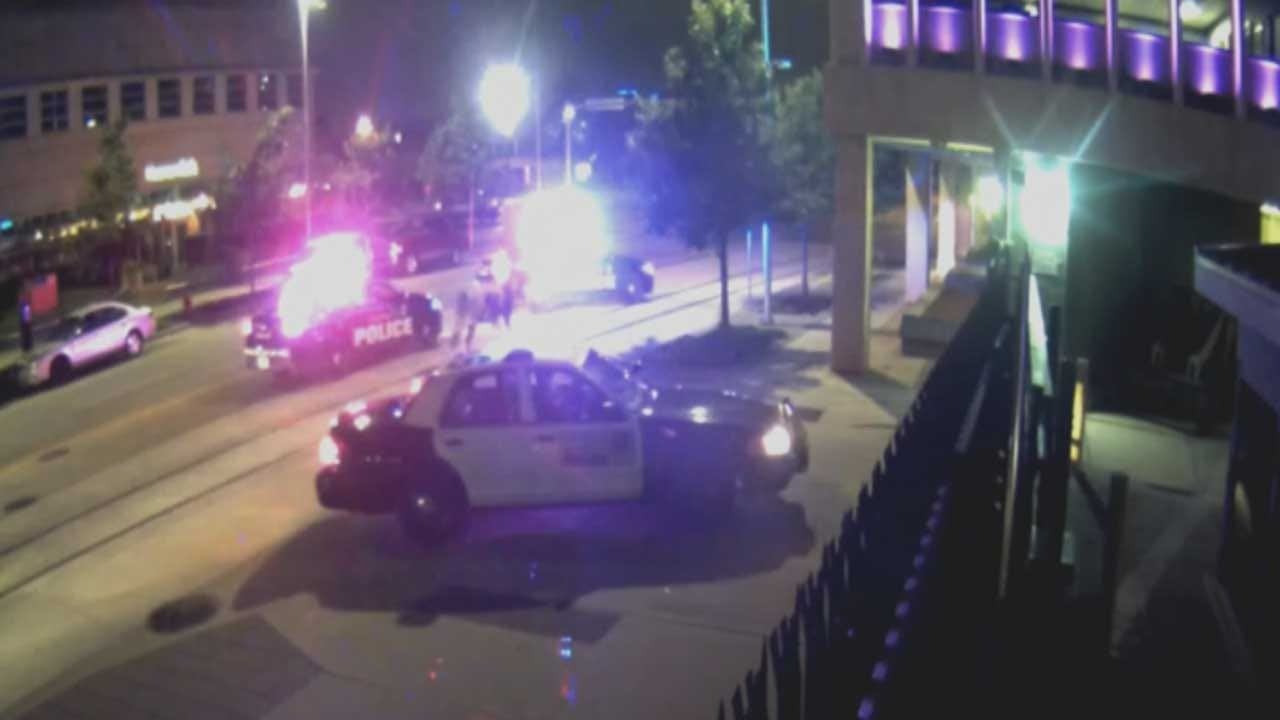 911 Call Released In Rodeo Bull Escape In Downtown OKC